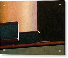 I-beam Acrylic Print by Norm Holmberg
