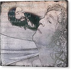 I Believe _ John Lennon Acrylic Print