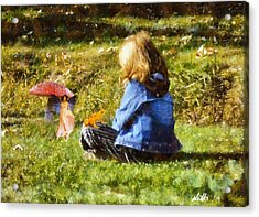 I Believe In Fairies Acrylic Print