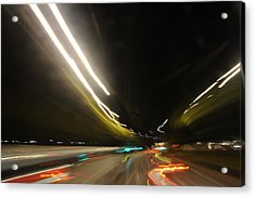 I Dreamed Of Driving At Night Acrylic Print by George Crawford