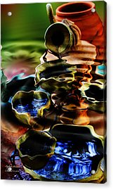I Flow Acrylic Print by Itzhak Richter