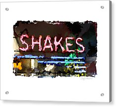 I Got The Shakes Acrylic Print by Geoff Strehlow