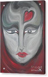 I Have Loved And Lost Acrylic Print by Rachel Carmichael