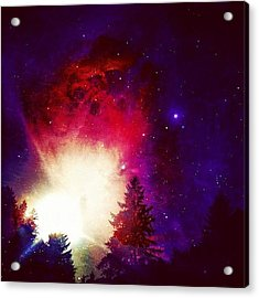 I Live On Mars. #igers #iphone4s Acrylic Print