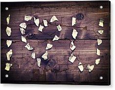 I Love You Acrylic Print by Joana Kruse