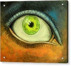 I See You Acrylic Print by Edwin Alverio