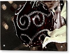 I Smell Christmas In The Air Acrylic Print by Hannah Miller