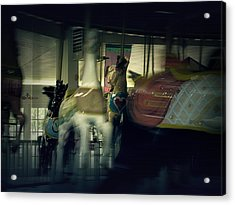 I Want Off This Ride Acrylic Print by Scott Hovind