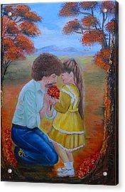 I Wish Acrylic Print by Fineartist Ellen