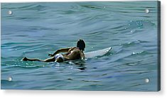 I Wish They All Could Be California Girls Acrylic Print by Joan Longas