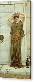 Ianthe Acrylic Print by John William Godward