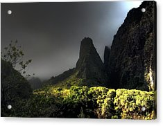 Iao Mountains Acrylic Print