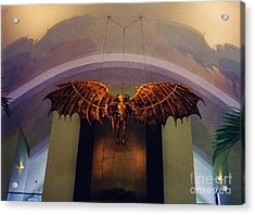 Icarus In The Louis Armstrong International Airport In New Orleans Acrylic Print by John Malone