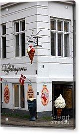 Ice Cream Shop Acrylic Print by Sophie Vigneault
