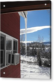 Ice In Motion Acrylic Print