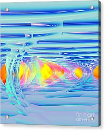 Ice Palace Sunrise Acrylic Print