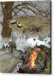 Ice Span Acrylic Print