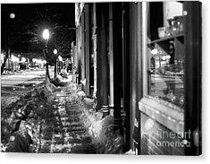 Ice Walk Acrylic Print by Randall  Cogle