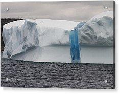 Acrylic Print featuring the photograph Iceberg by Eunice Gibb