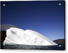 Iceberg In Canadian Arctic Acrylic Print by Richard Wear