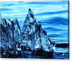Iceberg River Acrylic Print