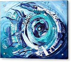 Icehole Fish Acrylic Print