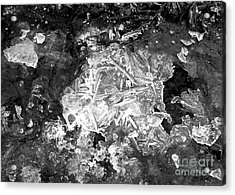 Icy Road Acrylic Print by Chalet Roome-Rigdon