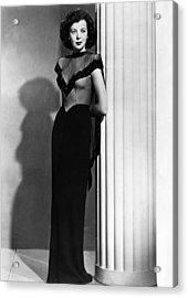 Ida Lupino, 1945 Acrylic Print by Everett