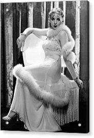 Ida Lupino, Paramount Pictures Acrylic Print