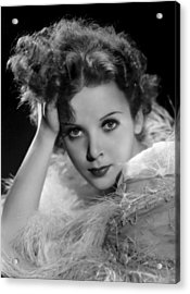 Ida Lupino, Paramount Pictures Photo Acrylic Print by Everett