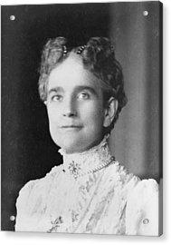 Ida Saxton Mckinley 1847-1907, First Acrylic Print by Everett