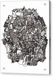 Idiomatic 160 Plus Acrylic Print by Tyler Auman