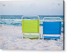 If I Were A Chair... Acrylic Print by Barbara Shallue