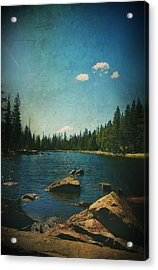 If It Could Be Just You And Me Acrylic Print by Laurie Search