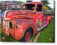If You Cant Drive It Anymore   Turn It Into A Planter Acrylic Print