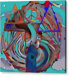Ignotum Acrylic Print by Rod Saavedra-Ferrere