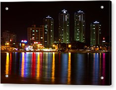 Ilgwang-myeon Beach South Korea Acrylic Print by Gabor Pozsgai
