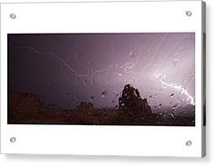 Illuminating Wetness Acrylic Print by Andreas Hohl