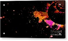 Illusion - A Planet Where Everyone Is From Kings And Queens Acrylic Print by Fania Simon