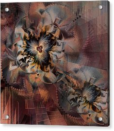 Acrylic Print featuring the digital art Illusion by Kim Redd