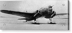 Ilyushin Db-3, Soviet Ww2 Bomber Acrylic Print