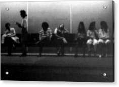 Images Of Waiting Acrylic Print