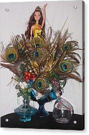 Imagination You Tell Me Acrylic Print by HollyWood Creation By linda zanini