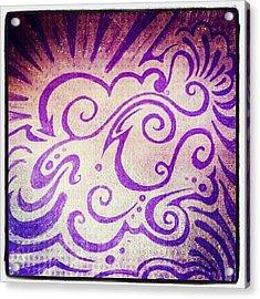 Imaginationartshop.com Doodle #sharpie Acrylic Print
