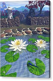 Immortal Dragonfly Acrylic Print by Diana Morningstar