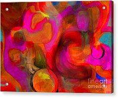 Implications Acrylic Print by D Perry