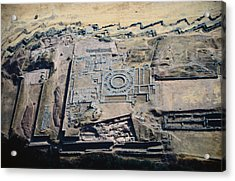 Imposing Incan Fortress Of Sacsayhuaman Acrylic Print by Bobby Haas