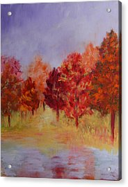 Impression Of Fall Acrylic Print