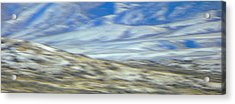 Impression Of Wyoming Acrylic Print by Lenore Senior