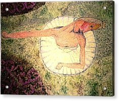 In A Garden - Dans Un Jardin Acrylic Print